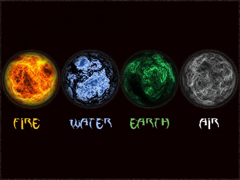 картинки четыре стихии